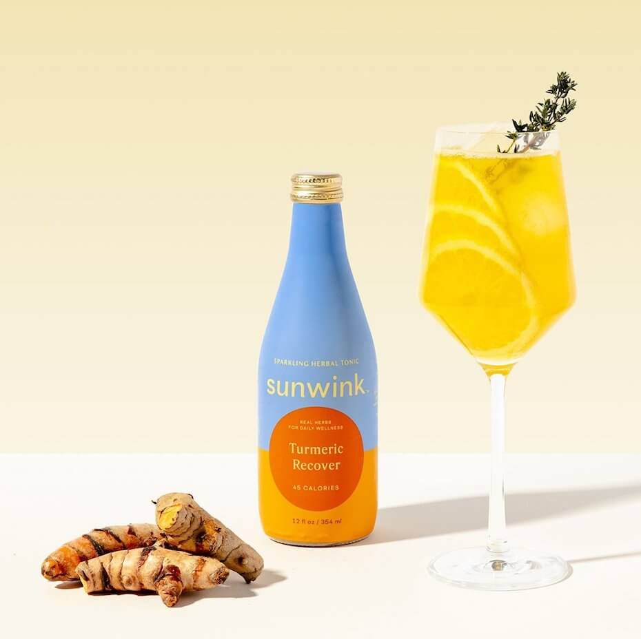 Sunwink turmeric recover tonic