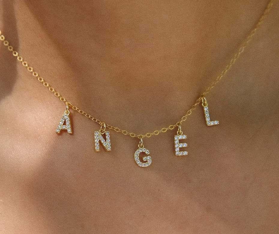 Ten Wilde Angel Necklace