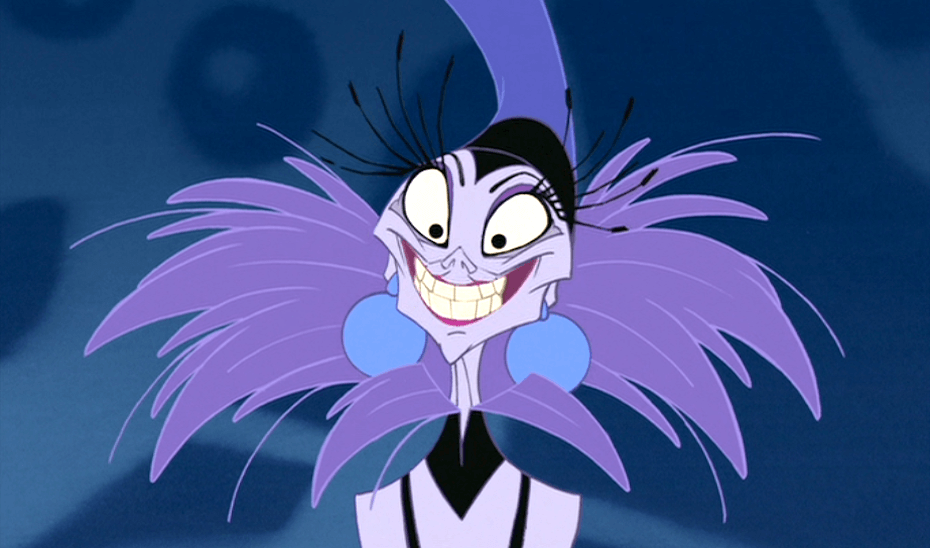 The Emperor's New Groove: Yzma smiling