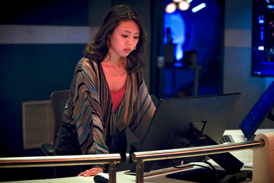 """The Flash -- """"Kiss Kiss Breach Breach"""" -- Image Number: FLA605b_0091b.jpg -- Pictured: Victoria Park as Kamilla -- Photo: Dean Buscher/The CW -- © 2019 The CW Network, LLC. All rights reserved"""