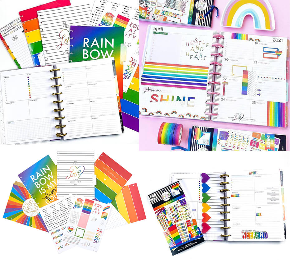 The Happy Planner Pride Collection
