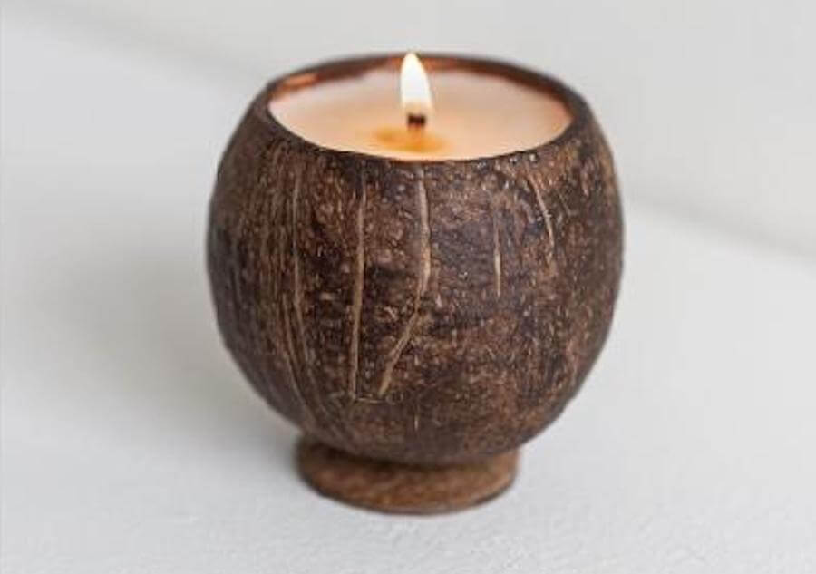 Backyard Candles Coconut Cup