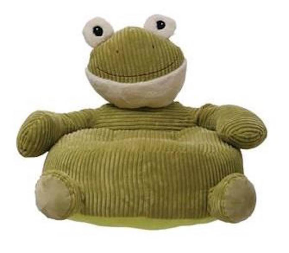 Corduroy Plush froggy chair