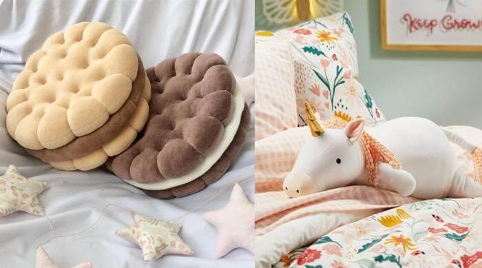 Cute and unusual decor pillows