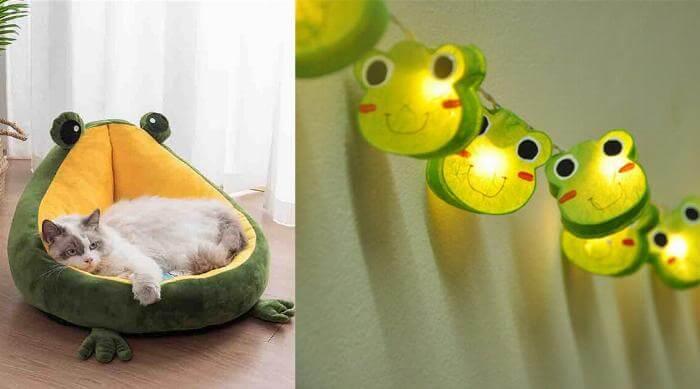 Cute frog decor