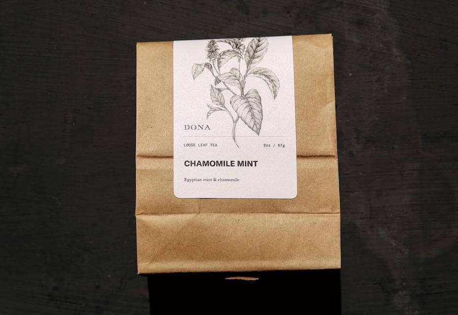 dona chamomile mint tea