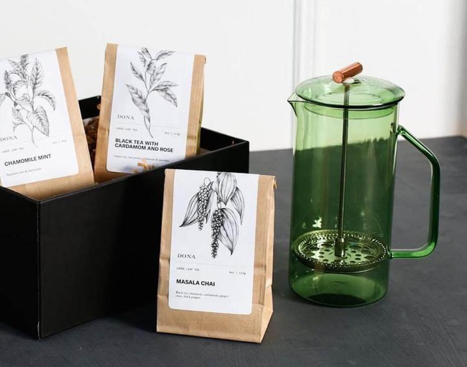 Dona Loose Leaf Tea set