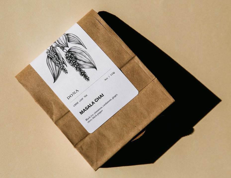 Dona masala chai loose leaf tea