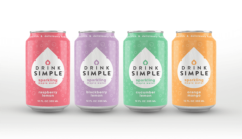 Drink Simple Sparkling Maple Water