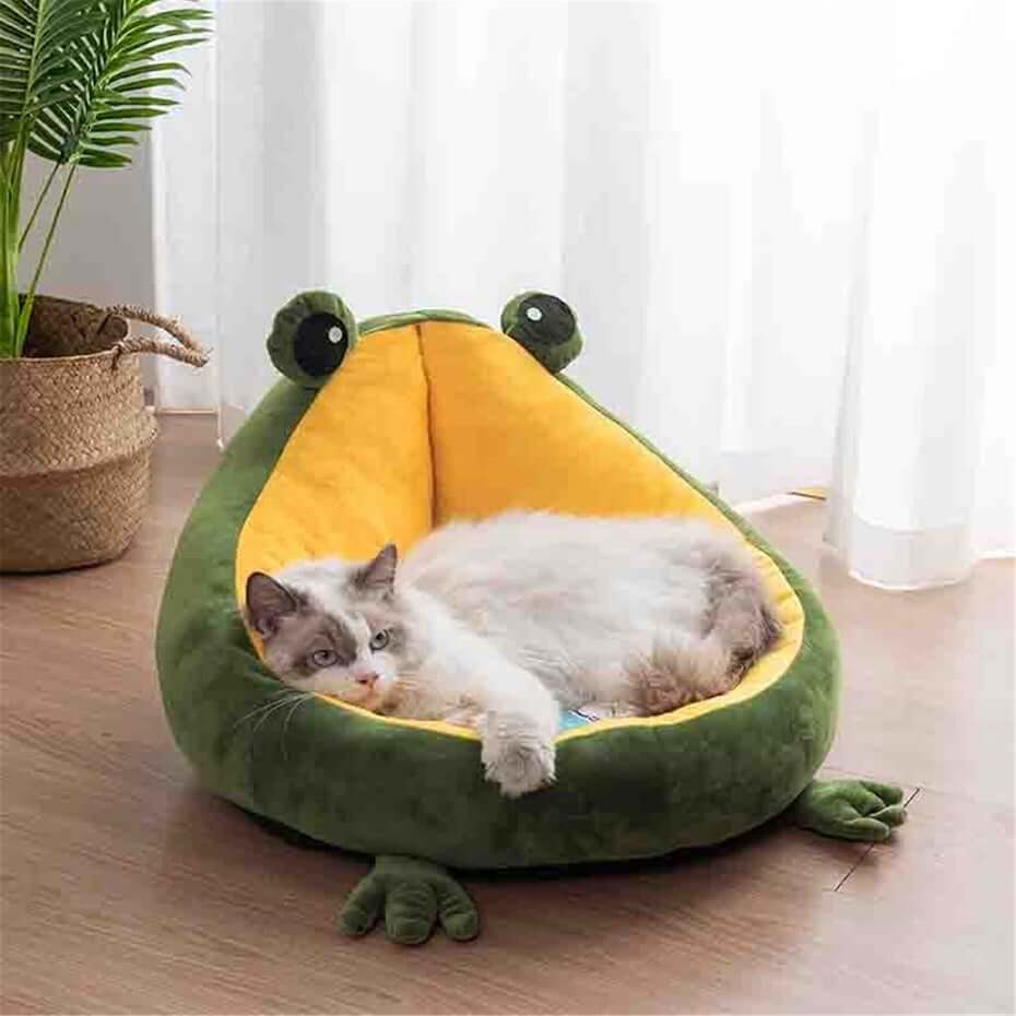 Etsy frog pet bed