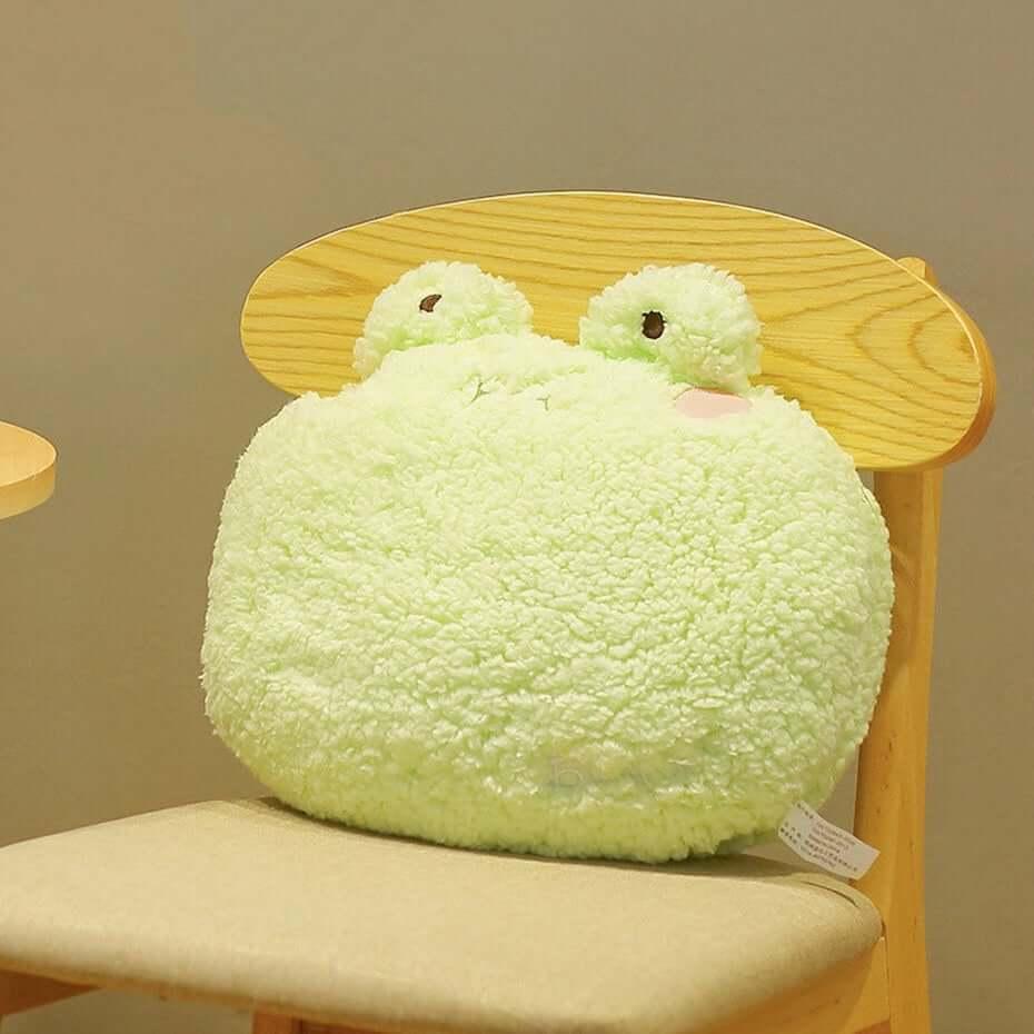 Etsy kawaii frog pillow
