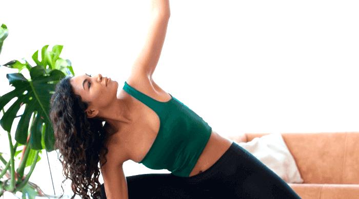 girl yoga