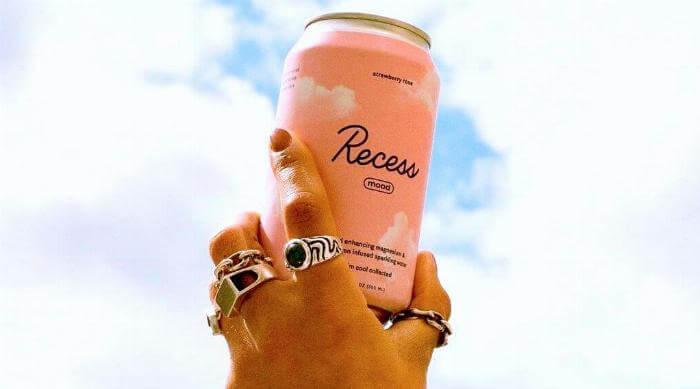Instagram @takearecess recess mood drink