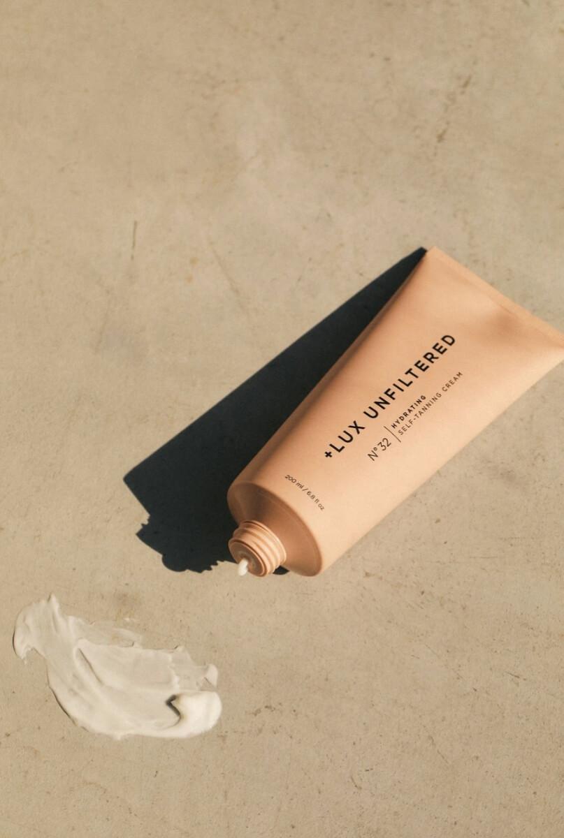 lux unfiltered gradual tanning cream