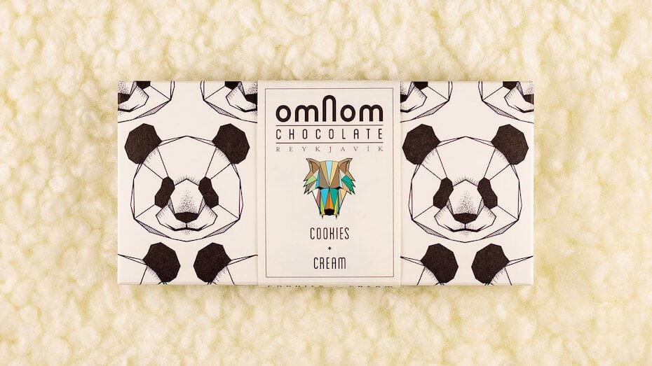 Omnom Cookies and Cream Chocolate Bar