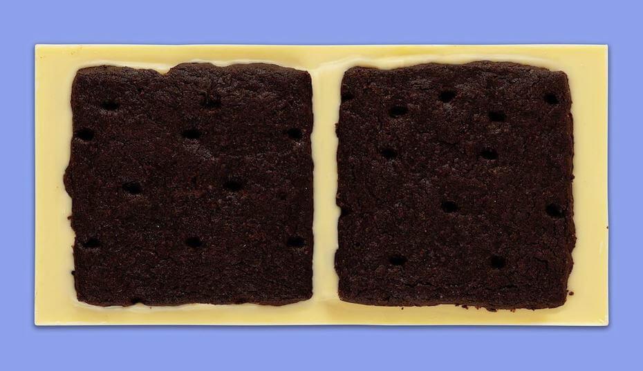 Omnom Cookies and Cream Chocolate Bar reverse