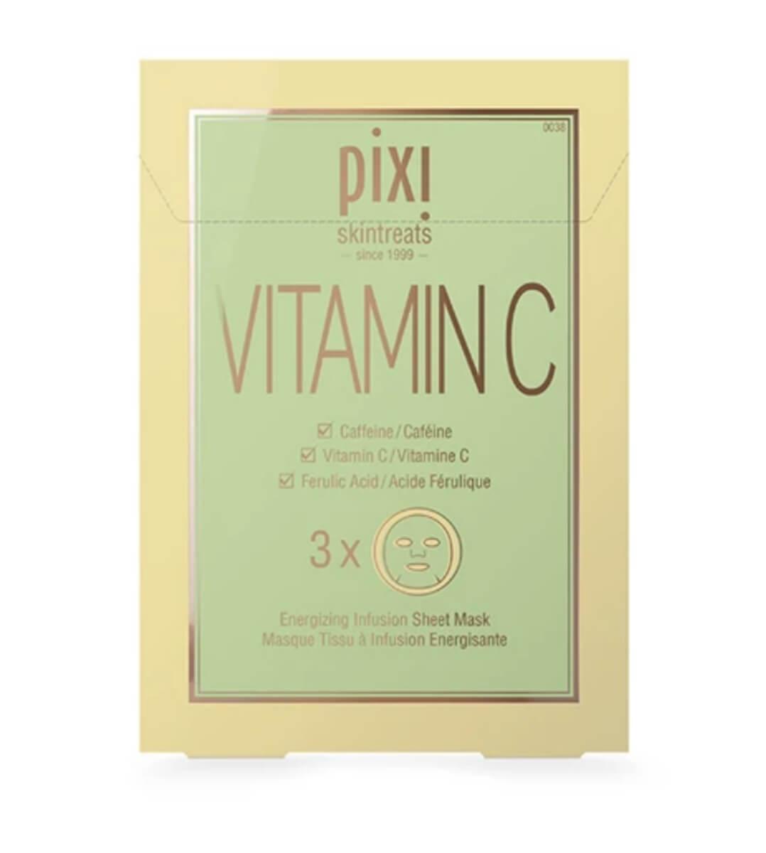 pixi beauty vitamin c sheet masks