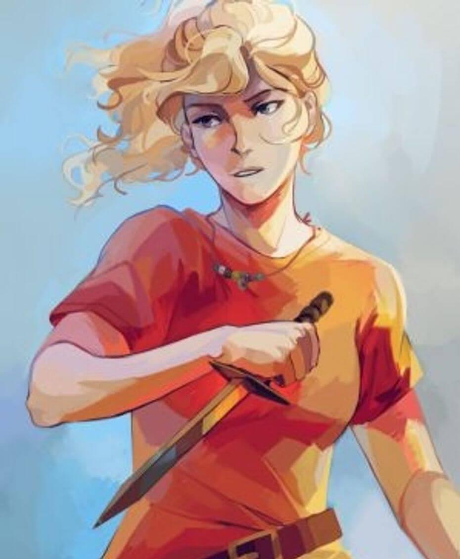 Rick Riordan: Annabeth Chase art
