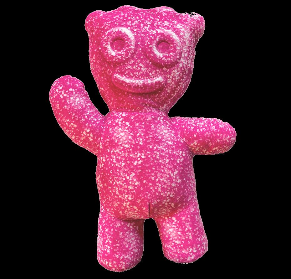 Sour Patch Kids pink kid pillow