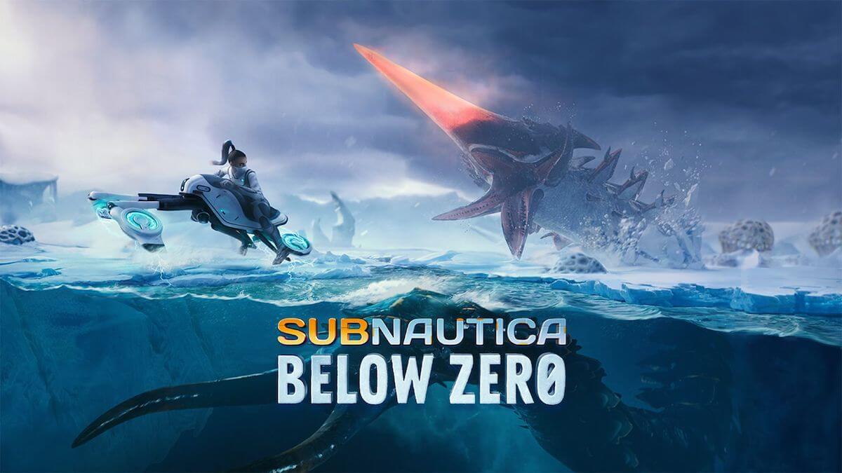 Subnautica: Below Zero title screen