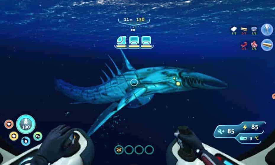 Subnautica: Below Zero leviathan