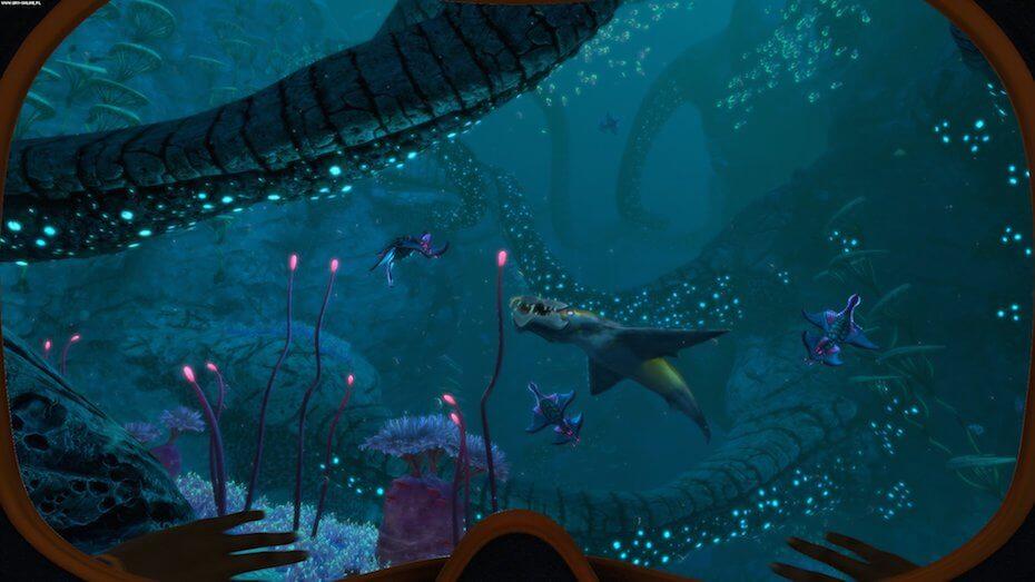 Subnautica: Below Zero underwater environment
