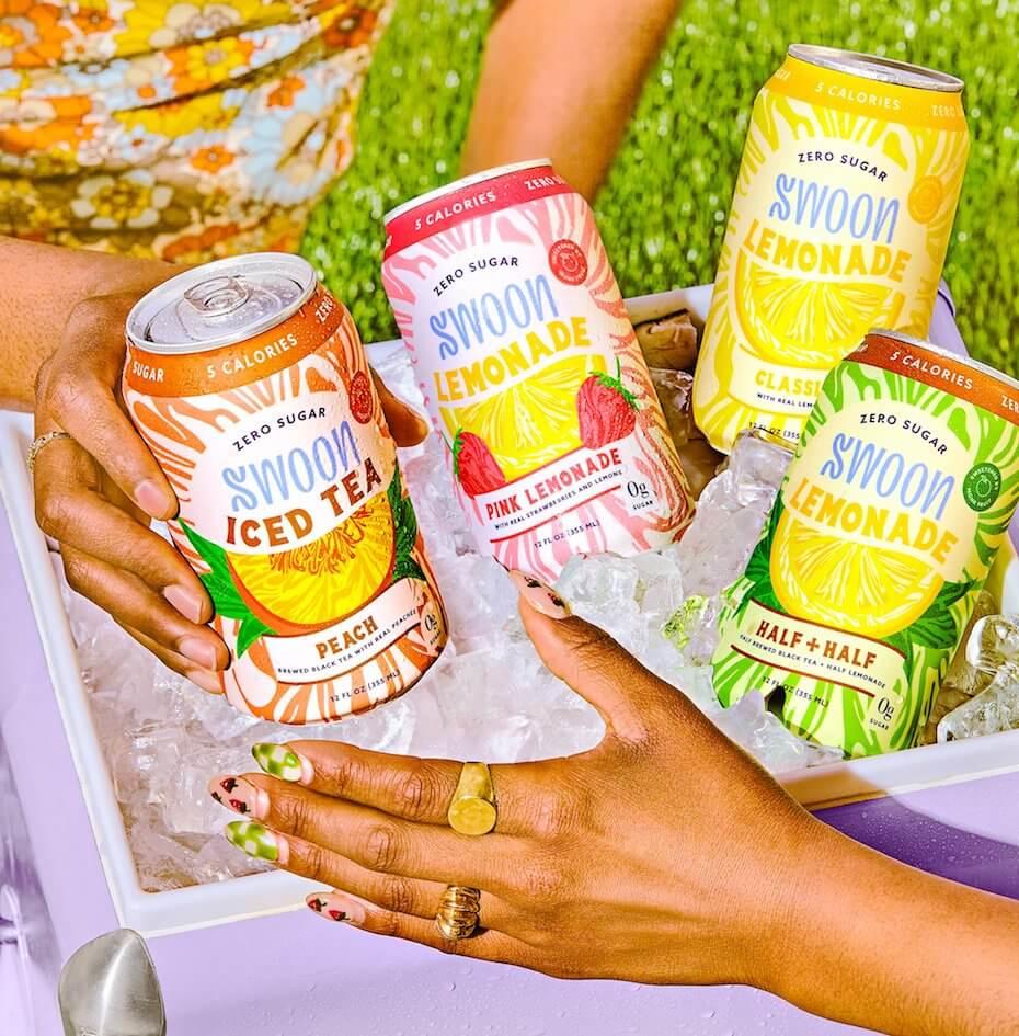 Swoon Lemonades Iced Tea
