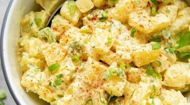 The Simple Veganista: old fashioned vegan potato salad