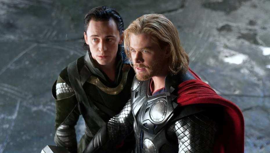 Thor: Loki and Thor brothers
