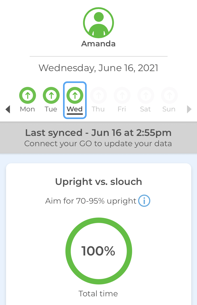 Upright app: stats for june 16