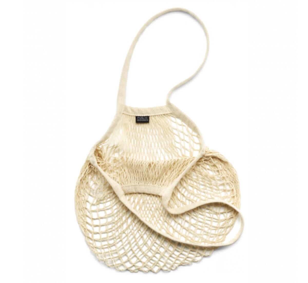 public goods wide mesh bag