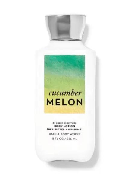 Bath and Body Works cucumber melon body lotion