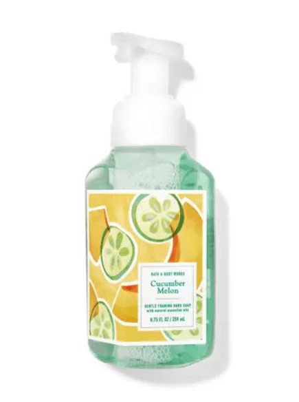 Bath and Body Works cucumber melon foaming hand soap