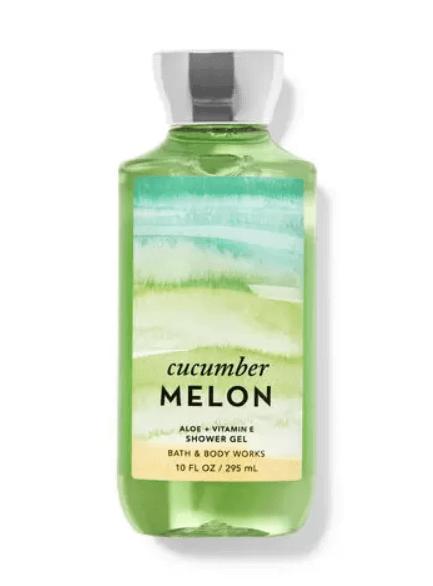 Bath and Body Works cucumber melon shower gel