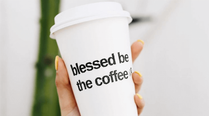 blessed be the coffee
