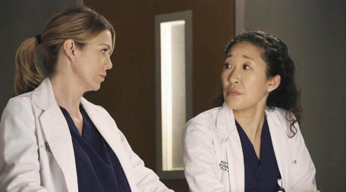 Grey's Anatomy: Cristina Yang and Meredith Grey