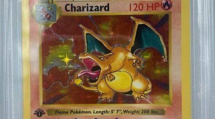 eBay: 1st edition holographic charizard card
