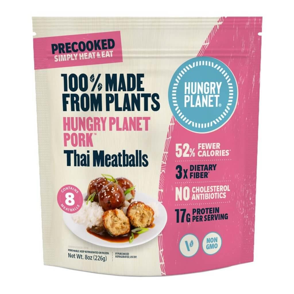 Hungry Planet: Thai meatballs