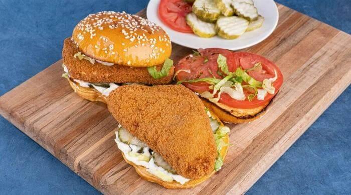 Instagram @hungryplanetfoods fried chicken sandwich