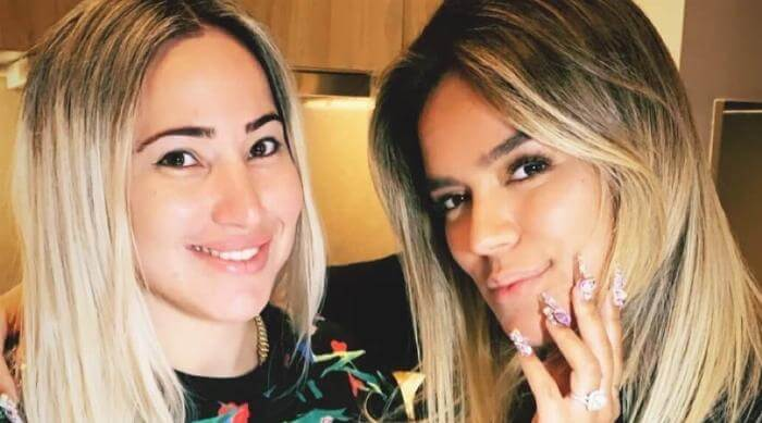Instagram @samy.nails Samantha Ramirez and Karol G
