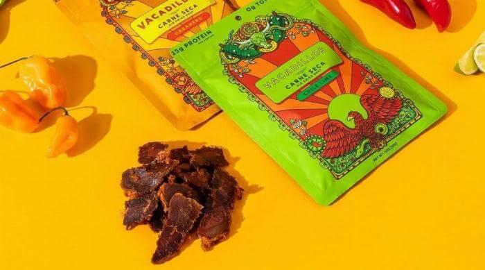 Instagram @vacadillos carne seca flavors