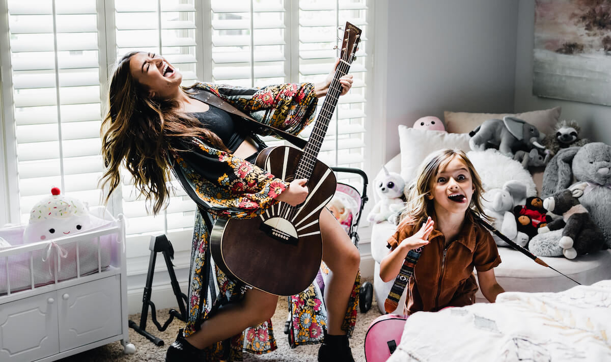 Lathrop Schmidt: Tenille Townes rocking out in Girl Who Didn't Care Music Video
