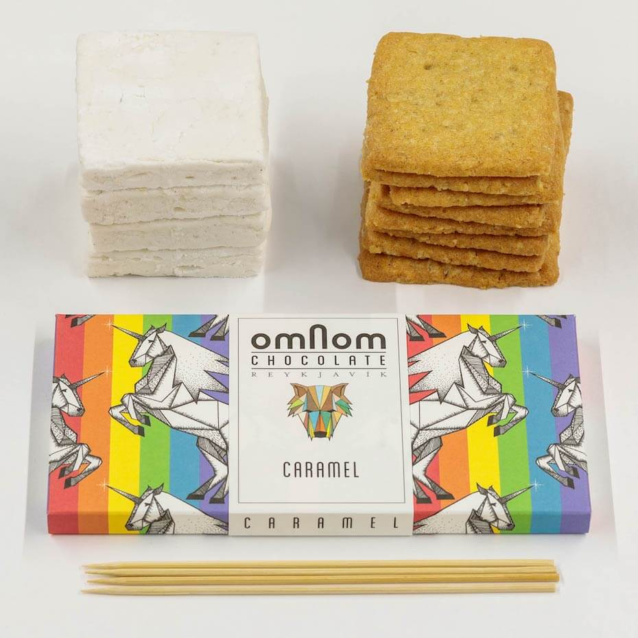 Omnom Smores Kit contents