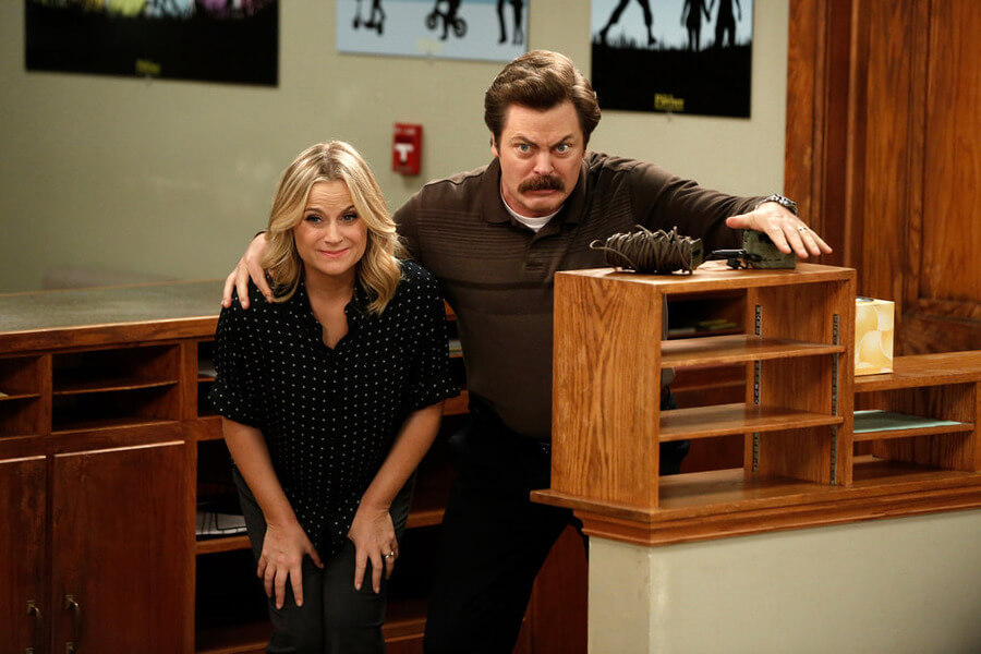 Parks and Recreation: Leslie Knope and Ron Swanson