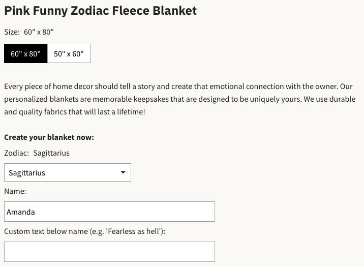 Relatable Basic pink funny zodiac blanket
