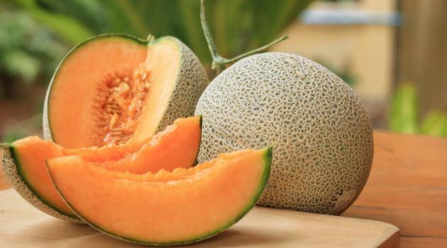 Shutterstock: cantaloupe