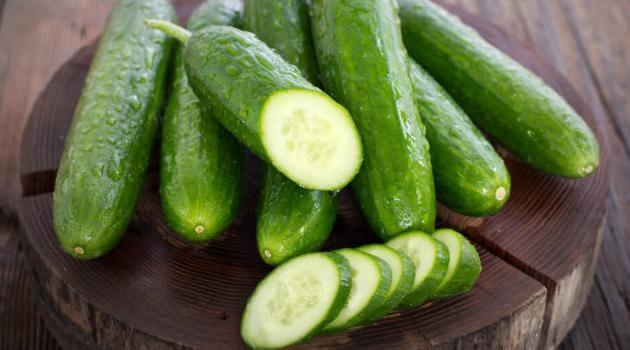 Shutterstock: cucumber