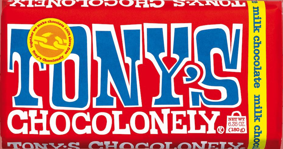 Tonys Chocolonely Milk Chocolate Bar