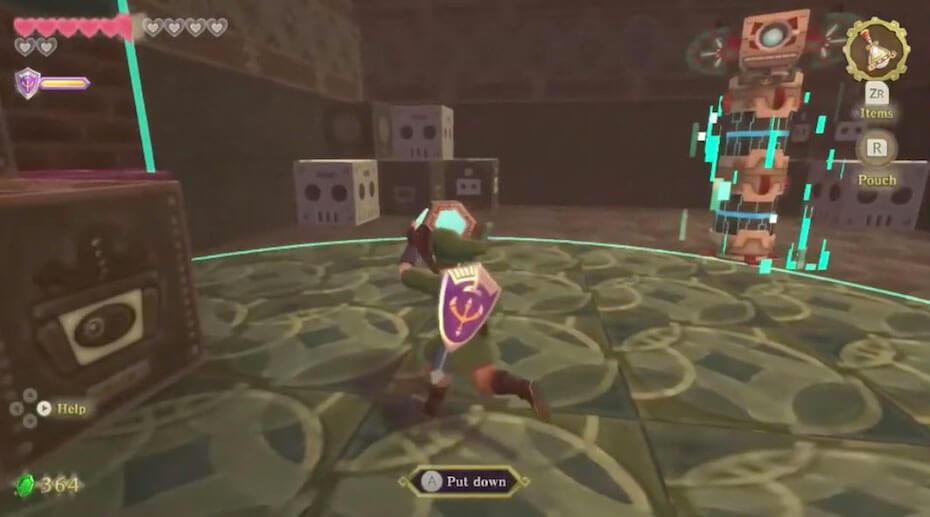 The Legend of Zelda: Skyward Sword lanayru sand sea time puzzle
