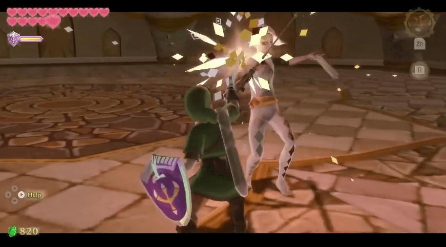 The Legend of Zelda: Skyward Sword second ghirahim fight